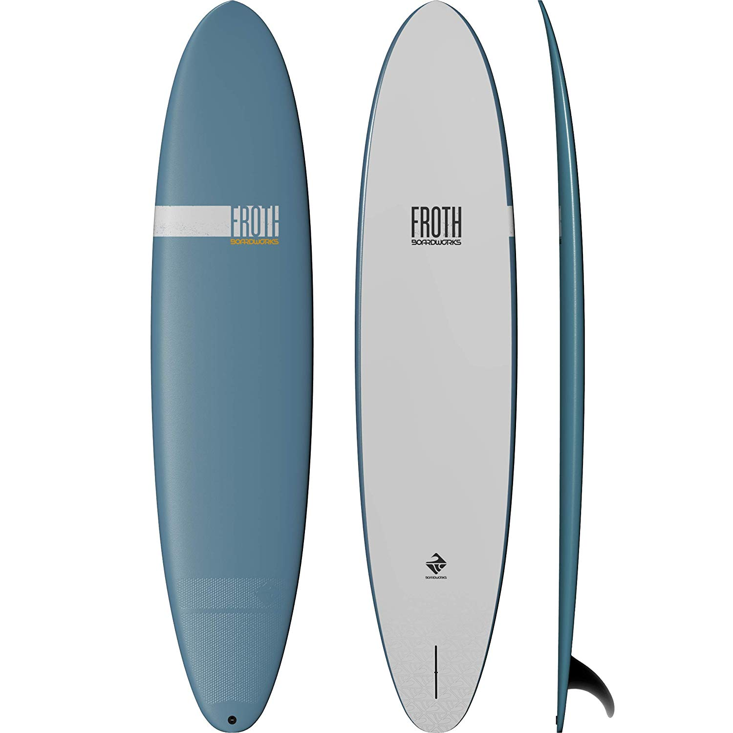 Boardworks-Froth-Soft-Top-Surfboard--Wake-Surf-Surfboard--4-6---9--Length